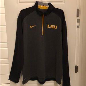 Nike LSU 1/4 zip pullover